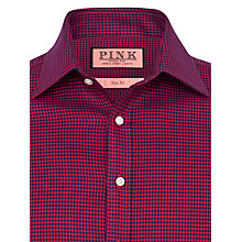 Buy Thomas Pink Verney Puppytooth Textured Shirt Online at johnlewis.com