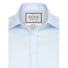 Buy Thomas Pink Davies Plain Slim Fit Shirt Online at johnlewis.com