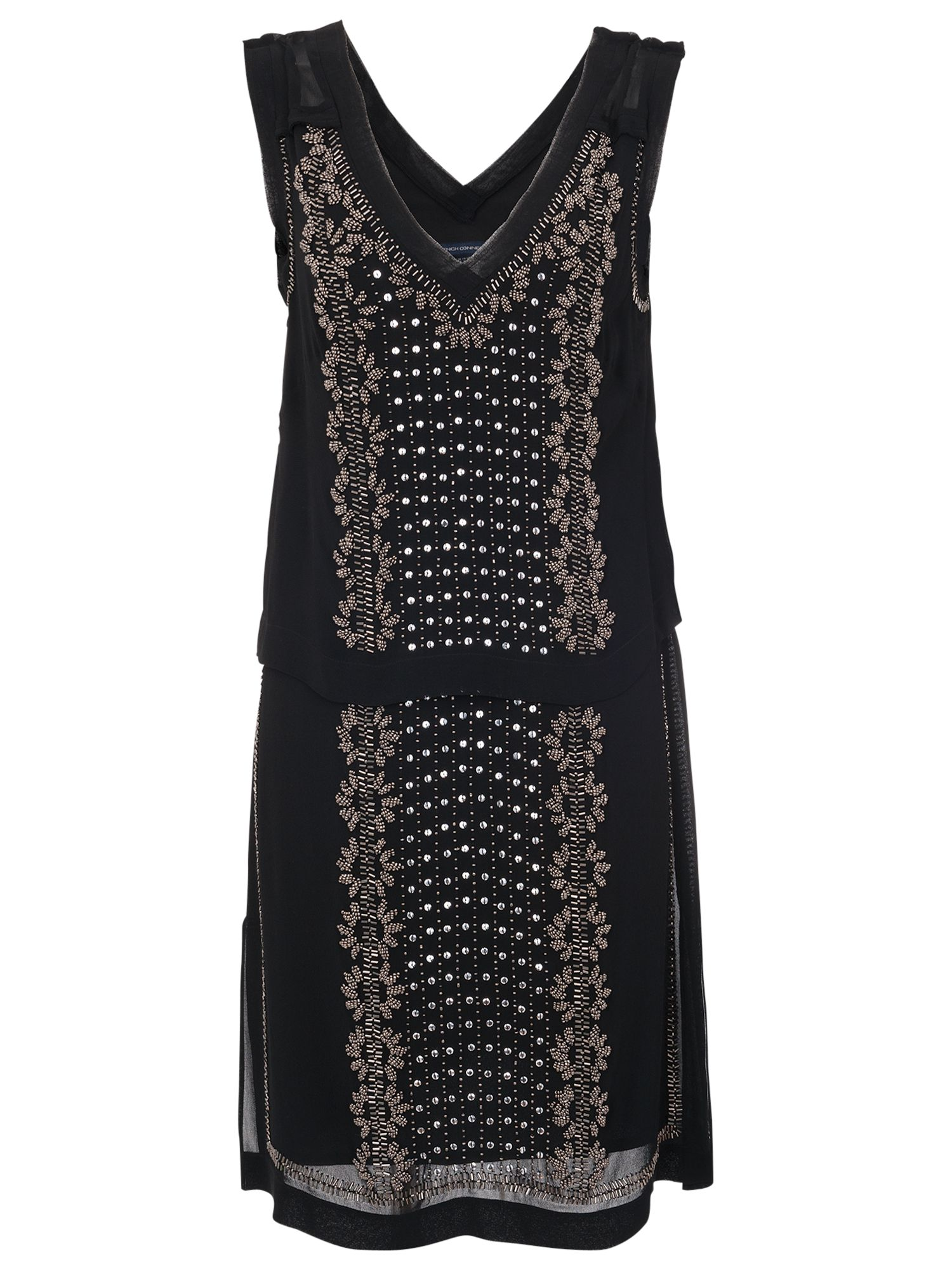 french connection la bohome embellished tunic dress black, french, connection, bohome, embellished, tunic, dress, black, french connection, 8|10, clearance, womenswear offers, womens dresses offers, new years party offers, women, inactive womenswear, new reductions, womens dresses, party outfits, party dresses, special offers, edition magazine, embellishment, 1745290