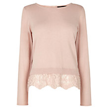 Buy Coast Estar Knitted Top, Blush Online at johnlewis.com