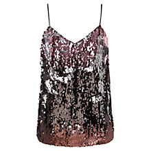 Buy Coast Rollia Sequin Cami Top, Multi Online at johnlewis.com