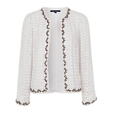 Buy French Connection La Boheme Embellished Jacket Online at johnlewis.com