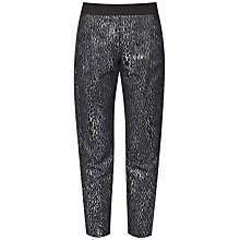 Buy French Connection Sparkle Ray Trousers, Silver/Multi Online at johnlewis.com