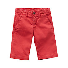 Buy Levi's Boys' Chino Shorts, Red Online at johnlewis.com