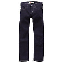 Buy Levi's Boys' 511 Dark Wash Slim Fit Jeans, Indigo Online at johnlewis.com