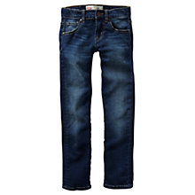 Buy Levi's Boys' 510 Seaweed Dark Wash Skinny Jeans, Indigo Online at johnlewis.com