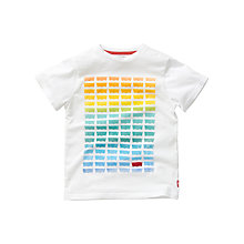 Buy Levi's Boys' Rainbow T-Shirt, White Online at johnlewis.com