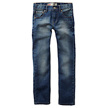 Buy Levi's Boys' 510 Mid Wash Skinny Jeans, Indigo Online at johnlewis.com