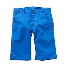 Buy Levi's Boys' Chino Shorts, Indigo Online at johnlewis.com