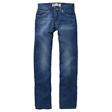Buy Levi's Boys' 504 Classic Straight Cut Denim Jeans, Indigo Online at johnlewis.com