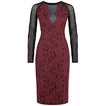 Buy Fenn Wright Manson Jodie Dress, Beetroot Online at johnlewis.com