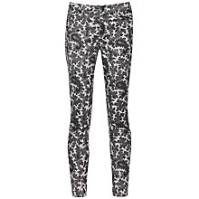 Buy French Connection Paisley Party Jeans, Dove Grey/Black Online at johnlewis.com