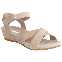 Buy Gabor Sedalia Strappy Nubuck Sandals Online at johnlewis.com