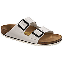 Buy Birkenstock Arizona Two Strap Leather Sandals Online at johnlewis.com