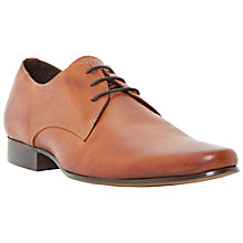 Buy Dune Randal Leather Gibson Shoes Online at johnlewis.com