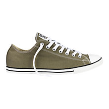 Buy Converse Chuck Taylor Lean Ox Trainers, Sunset Green Online at johnlewis.com