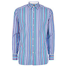 Buy Hackett London Bright Stripe Shirt, Multi Online at johnlewis.com