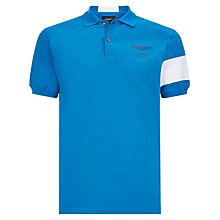 Buy Hackett London Aston Martin Racing Back Stripe Polo Shirt Online at johnlewis.com