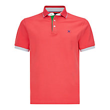Buy Hackett London Multicolour Trim Polo Shirt Online at johnlewis.com