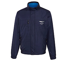 Buy Hackett London Aston Martin Reversible Jacket, Navy/Bright Blue Online at johnlewis.com