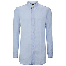 Buy Hackett London Solid Linen Shirt Online at johnlewis.com