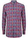 Hackett London Bright Check Shirt, Pink