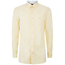 Buy Hackett London Washed Plain Pinpoint Shirt Online at johnlewis.com