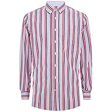 Buy Hackett London Tri Bar Stripe Shirt, Multi Online at johnlewis.com