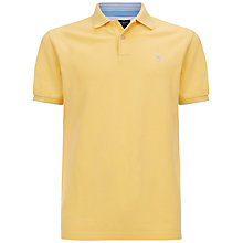 Buy Hackett London Stripe Collar Polo Shirt Online at johnlewis.com