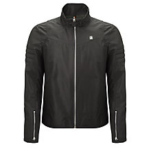 Buy G-Star Raw Biker Style Jacket, Black Online at johnlewis.com