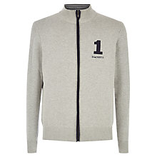 Buy Hackett London Full Zip Logo Jumper Online at johnlewis.com