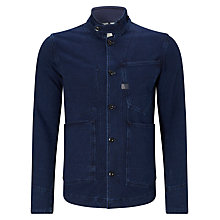 Buy G-Star Raw Type C Denim Blazer Jacket, Navy Online at johnlewis.com