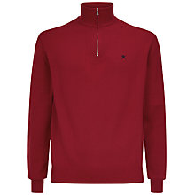 Buy Hackett London Pima Cotton Half Zip Jumper Online at johnlewis.com