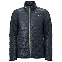 Buy G-Star Raw Edla Quilted Jacket, Navy Online at johnlewis.com