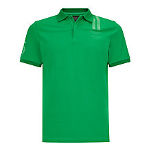 Buy Hackett London Aston Martin Vertical Stripe Polo Shirt, Green Online at johnlewis.com