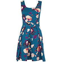 Buy Almari Floral Tie Back Dress, Multi Online at johnlewis.com