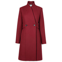 Buy L.K. Bennett Bette Double-Breasted Peacoat Online at johnlewis.com