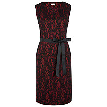 Buy Kaliko Bonded Lace Shift Dress, Red Online at johnlewis.com