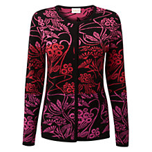 Buy East Liang Jacquard Cardigan, Peony Online at johnlewis.com