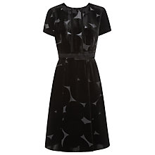 Buy Havren Velvet Tulle Midi Dress, Black Online at johnlewis.com