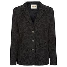Buy Havren Paisley Jacket, Charcoal Online at johnlewis.com