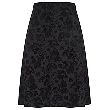 Buy Havren Paisley Printed Skirt, Charcoal Online at johnlewis.com