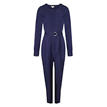 Buy Whistles Utility Jumpsuit, Navy Online at johnlewis.com