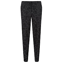 Buy Havren Paisley Trousers, Charcoal Online at johnlewis.com