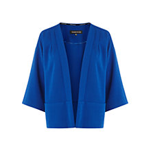 Buy Warehouse Kimono Sleeve Jacket, Bright Blue Online at johnlewis.com