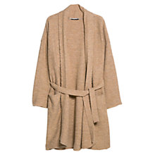 Buy Mango Long Cardigan, Brown Online at johnlewis.com