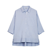 Buy Gerard Darel Sixtine Shirt, Hard Blue Online at johnlewis.com