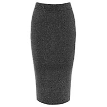 Buy Oasis Sparkle Pencil Skirt, Black Online at johnlewis.com