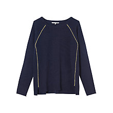 Buy Gerard Darel Marmaduke Jumper, Marine Online at johnlewis.com