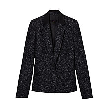 Buy Gerard Darel Violette Jacket, Black Online at johnlewis.com